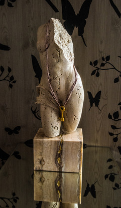 Martin Foot sculpture