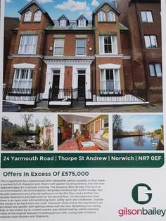 Estate agents details