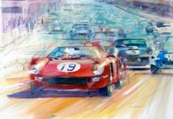 Le Mans Start 1962 70x100cm