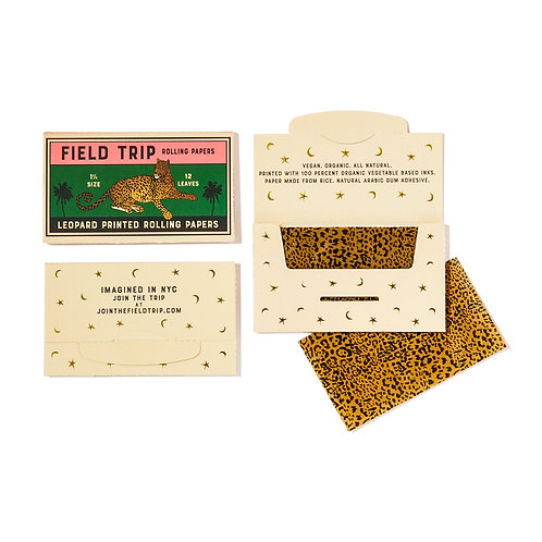 SAMPLE SALE: Leopard Rolling Papers