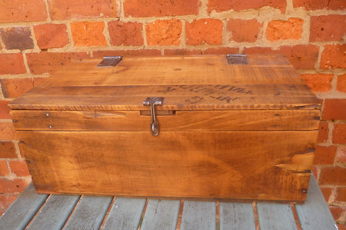 Old Trunk made of recycled Starch box