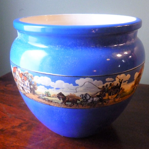 Edwardian ceramic jardinier