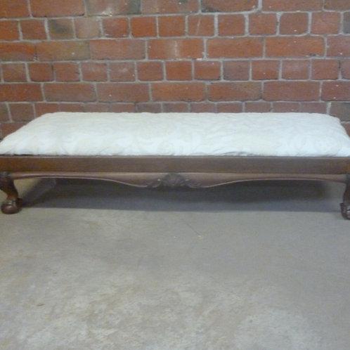 Antique oak  foot stool