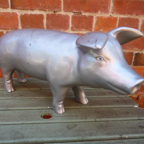 Austral Hams display pig from the 1960's