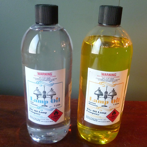 Scented lamp oil 1 litre