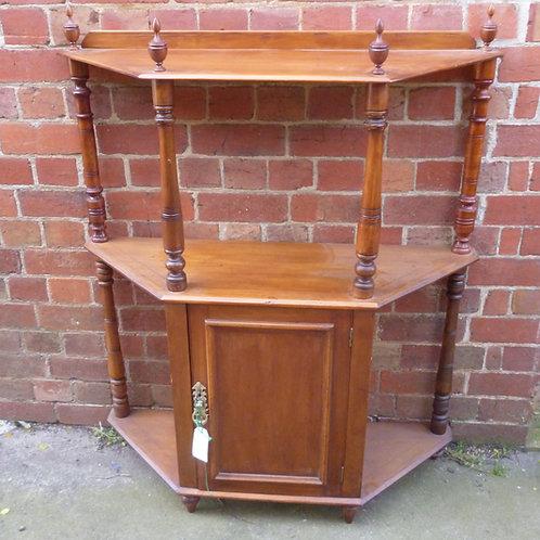 Edwardian Kauri pine hall cupboard stand