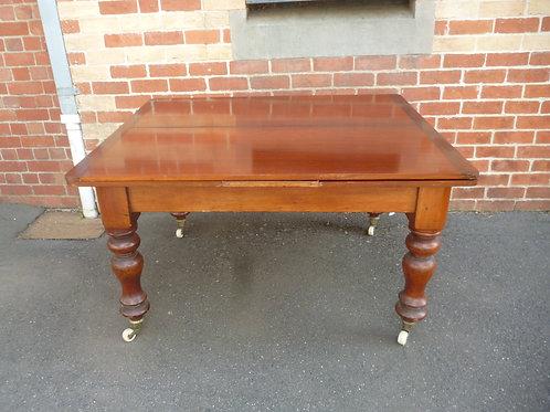 Australian Colonial cedar drawer leaf table