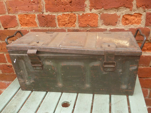 WW11 Ammo box as is  stamped 1943