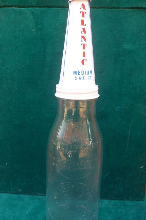Atlantic quart reproduction oil bottle
