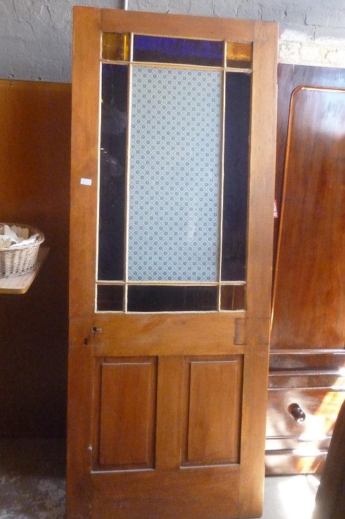 Restored Vestibule door