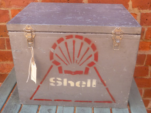 Old Esky with Shell logo on it