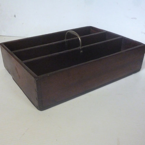 Georgian mahogany  cutlery box