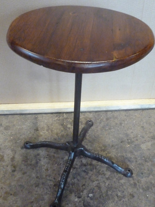 Rustic iron and Baltic wine table made in NewYork