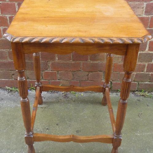 Tudor oak occasional table