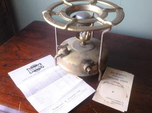 Vintage Burmos paraffin pressure stove