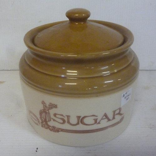 Bendigo pottery stone jar