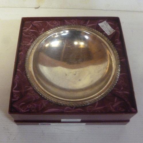 Silver plate Rodd sweet nut bowl in orig box