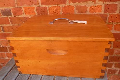 Kauri pine box restored
