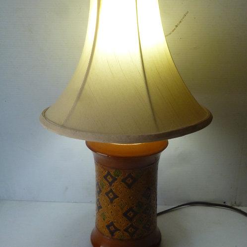 Retro ceramic table lamp