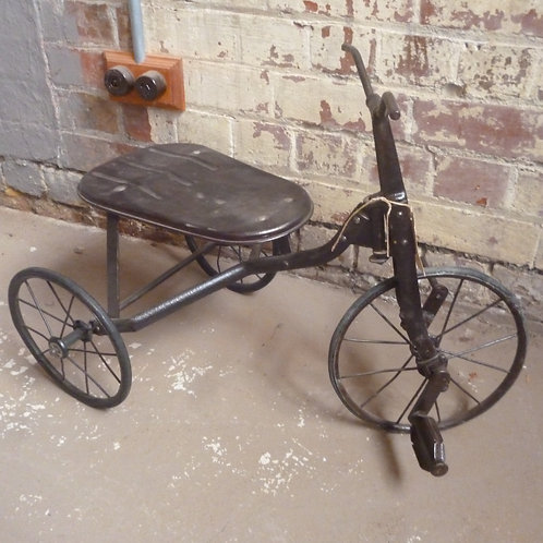 Early wrought iron trike