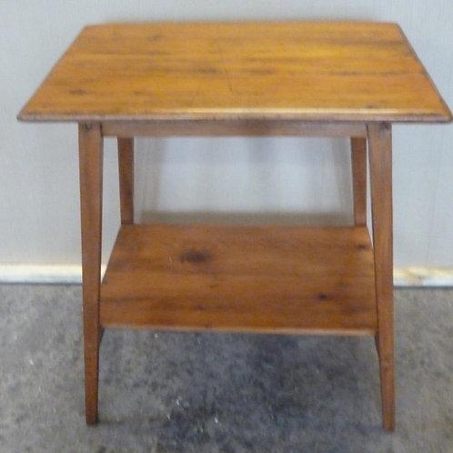 Edwardian kauri pine occasional table