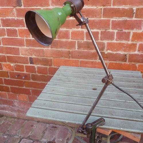 Original Rowco industrial drawing board light