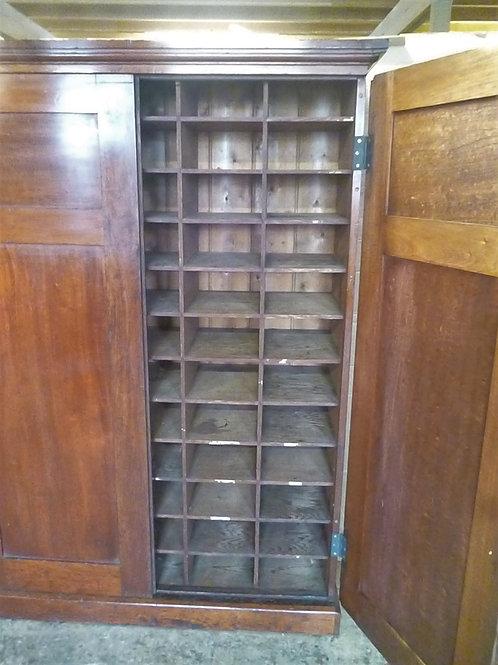 Early Australian cedar pigeon hole cabinet