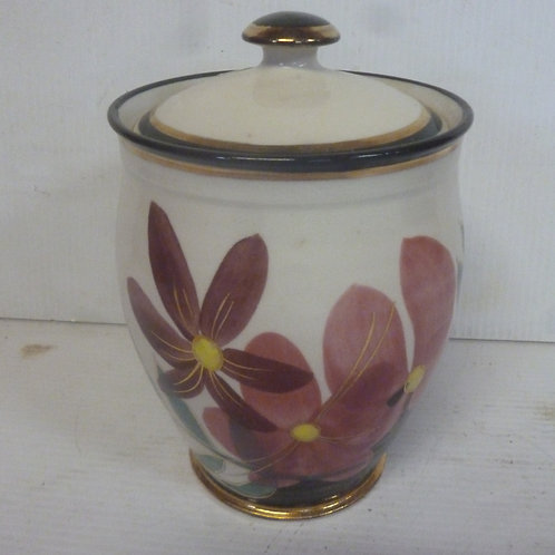 Retro Ceramic covered jar