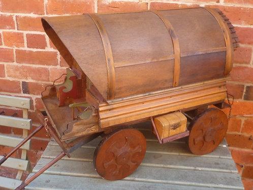 Vintage handcrafted Gypsy caravan