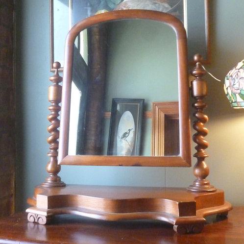 Early Australian cedar vanity mirror