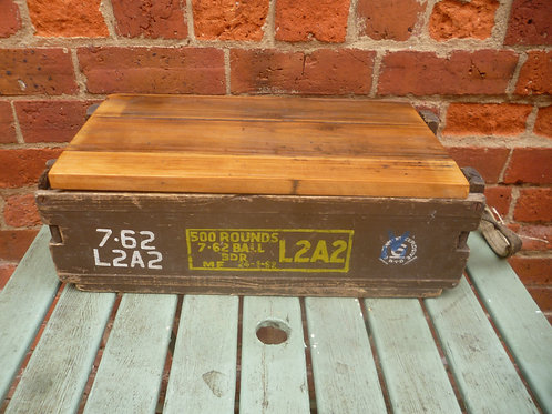 Ammo box wooden Vietnam war era