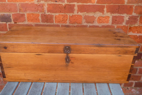 Hardwood tool chest or travel trunk