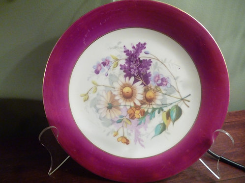 Limoge plates and comport