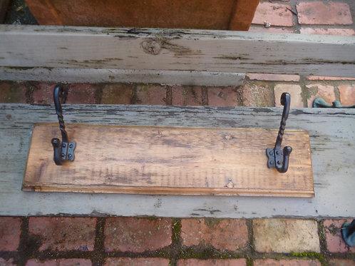 Baltic pine 2 hook hookboard