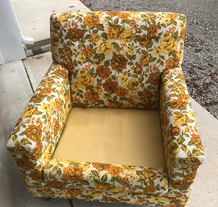 Rescue Reupholstery Project