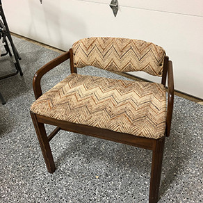 Vanity Chair Upcycle