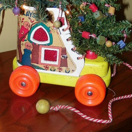 The Christmas Tree in a Shoe