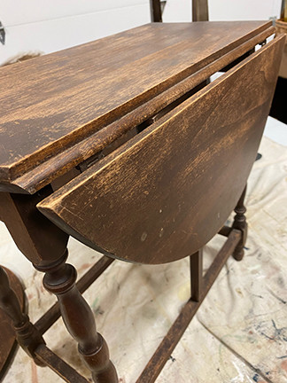 Drop Leaf Table Discovered