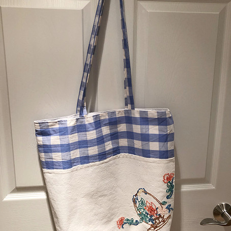 More Linen Upcycling