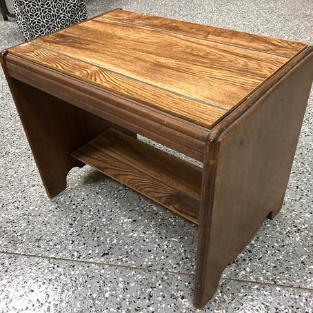 Vanity Bench Revamp
