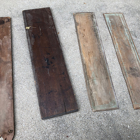 Reclaimed Wood Farmhouse Signs