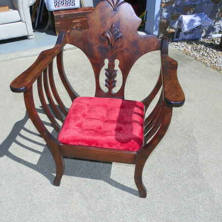A chair fit for a queen.