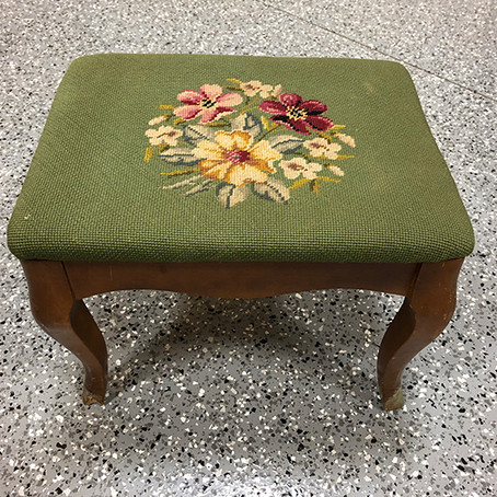 Fun Footstool Makeover