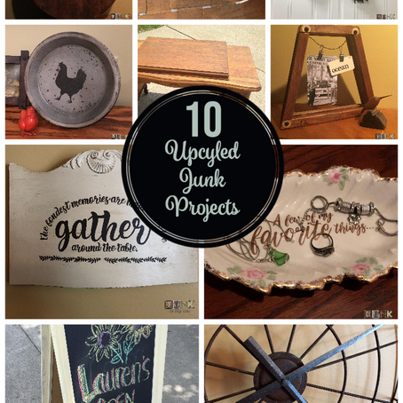 10 Upcycled Junk Projects
