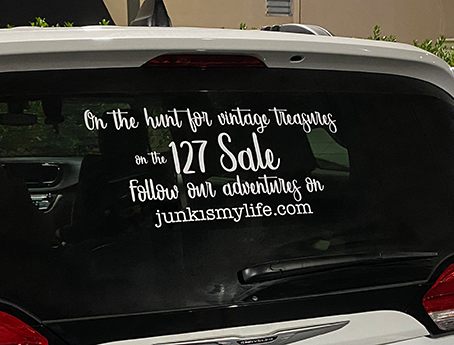 2021 127 Yard Sale (Pre-Sale)