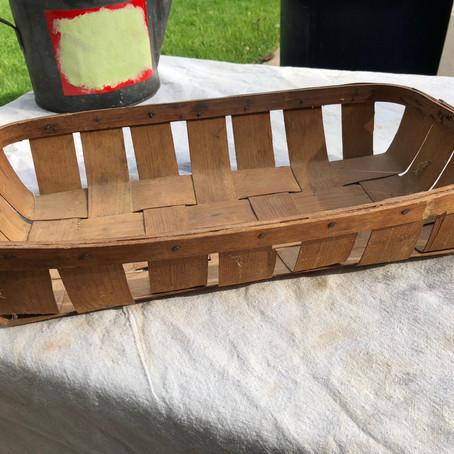Quick Basket Repurpose