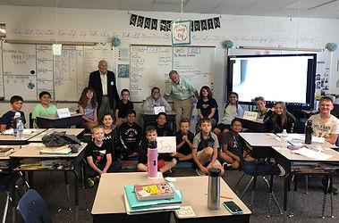Law Week 2019 Ms Bains 5th grade class G