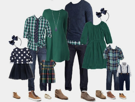 What to wear for Christmas Mini Sessions