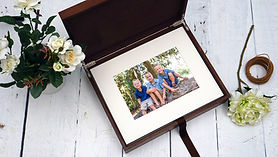 premium wood folio box (story box) by Ti
