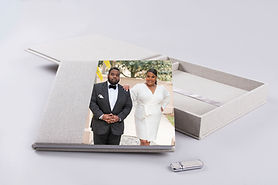acrylic cover album by Timeless Moments